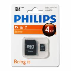 Philips FM04MA35B/97 4 Gb Class4 Adapt�rl� Micro