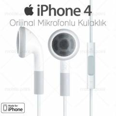 Apple iPhone 4 Kulakl�k Mikrofonlu Kumandal�