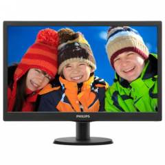 Philips 19,5 203V5LSB26-62 LED Monit�r 5ms Siyah