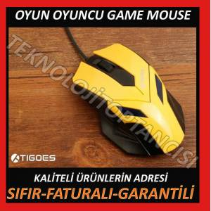 OYUNCU MOUSE GAMER MOUSE GAME GAM�NG MOUSE