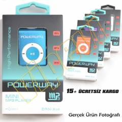 Metal Kasa Mini MP3 Player USB �arjl� + Kulakl�k
