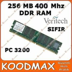 Veritech 256 Mb DDR 400 Mhz Pc Ram - SIFIR