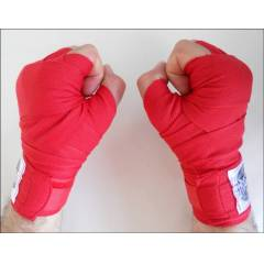 Dragon Boks ve Kick-box Bandaj 3,5 Metre K�rm�z�