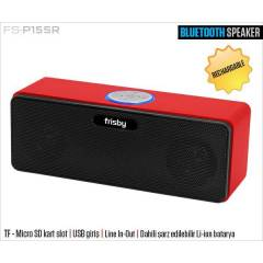 FRISBY USB 2.0 TF/SD BLUETOOTH PORTABLE SPEAKER