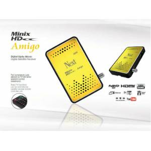 Next Minix HD Amigo Full HD Mini Uydu Al�c�s�,