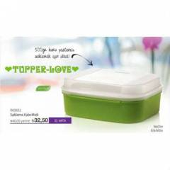 TUPPERWARE SAKLAMA KAB� M�D� YES�L RENK