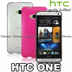 Htc One K�l�f M7 Soft Silikon k�l�f