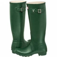 Hunter �izme W23177 HUNTER GREEN WELLIES