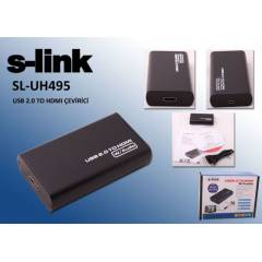 S-Link SL-UH495 USB To HDMI D�n��t�r�c�