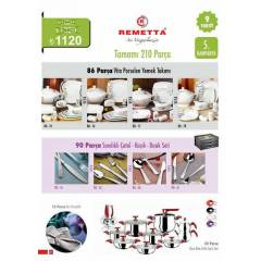 REMETTA 210 PAR�A �EY�Z SET�