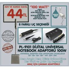 UNIVERSAL NOTEBOOK LAPTOP ADAPT�R �ARJ ALETi