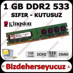 Kingston 1 GB DDR2 533 MHZ RAM PC4200 - S�f�r