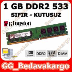 Kingston 1 GB DDR2 533 MHZ RAM PC4200 - SIFIR