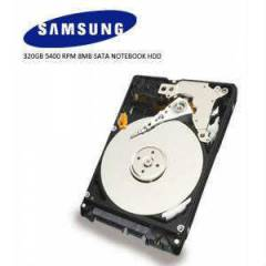 SAMSUNG 2.5 320GB 5400 RPM 8MB SATA NOTEBOOK HDD