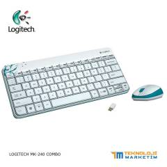 LOGITECH MK240 KABLOSUZ WIRELESS  KLAVYE MOUSE