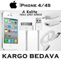 Apple iPhone 4 4s Orjinal �arj Data Kablosu