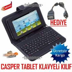 CASPER 7 in� TABLET KILIFI KLAVYEL� TABLET KILIF