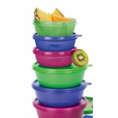 TUPPERWARE �EKERPARE VE �EKER KAPLAR 6LI SET