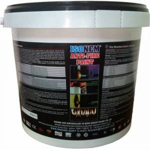 �sonem Anti-Fire Paint Yanmaz Boya 18 K�