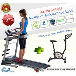 Buffalo Be Fit M 2 Hp Masaj Motorlu Ko�u Band�