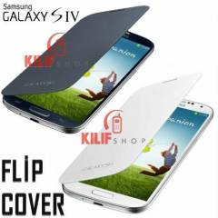 Galaxy S4 i9500 L�ks Flip Cover K�l�f+3Film
