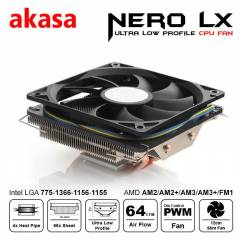 Akasa Nero LX Intel ve AMD ��lemci So�utucu