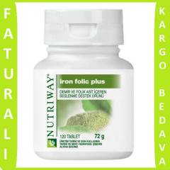 AMWAY NUTR�WAY IRON FOL�C PLUS 120 TABLET
