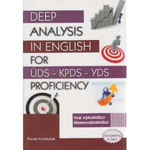 Deep Analysis in English for �DS - KPDS - YDS
