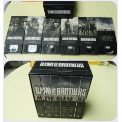 BAND OF BROTHERS -TOM HANKS VHS VIDEO KASET SET�
