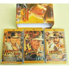 INDIANA JONES VHS VIDEO KASET SETİ - 3 ADET