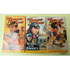 YOUNG INDIANA JONES VHS VIDEO KASET SET� -3 ADET