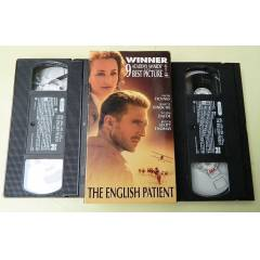 THE ENGLISH PATIENT VHS VIDEO KASETLER -2 ADET
