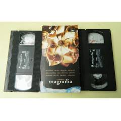 MAGNOLIA -TOM CRUISE VHS VIDEO KASETLER-2 ADET