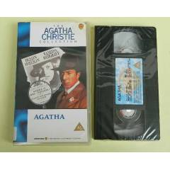AGATHA CHRISTIE - DUSTIN HOFFMAN VHS VIDEO KASET