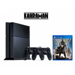 SONY PS4 500 GB + 2.KOL DEST�NY + PS4 KULAKLIK