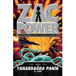 Zac Power 17 - Yanarda�da Panik