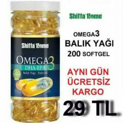 OMEGA 3 BALIK HAPI 200 SOFTGEL 1000 MG