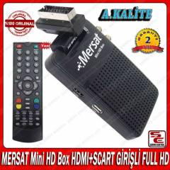 MERSAT Mini HD Box HDMI+SCART G�R��L� FULL HD M�