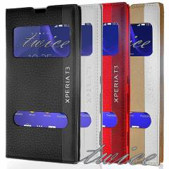 SONY XPERIA T3  KILIF ��FT PENCERE MGNM