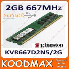 Kingston 2 GB 667 MHZ DDR2 Pc Ram S�f�r Kutulu