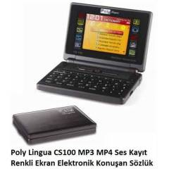Poly Lingua CS100 MP3-MP4 �NG-T�R KONU�AN S�ZL�K