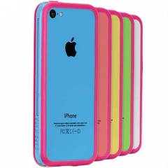 iPhone 5c K�l�f �nce Bumper Case Mate CAL�FORN�A