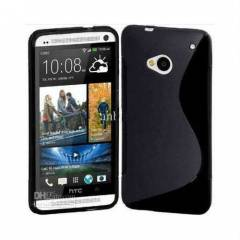 HTC One K�l�f S-Line Silikon Kapak // HTC ONE