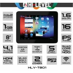 HI-LEVEL T801 1.6GHZ 1GB DDR3 16 GB Tablet Pc