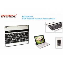 Everest KB650BTUK Siyah Bluetooth Aluminum Q Mul