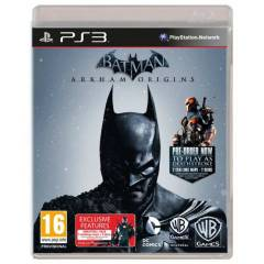 BATMAN ARKHAM ORIGINS PS3 PAL SIFIR AMBALAJINDA