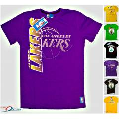 7 ADET LAKERS BOSTON BASKI ERKEK TSHIRT T���RT