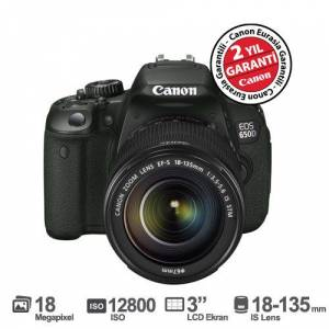 Canon EOS 650D 18-135MM IS STM 18MP 3.0`` LCD SL