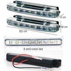 Carub DRL G�ND�Z LED� 16 Ledli