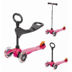 Micro Mini 3-in-1 Scooter Pembe